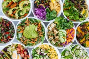 Salads for low carb lunch ideas