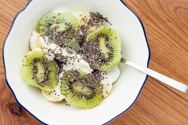 Vegan Keto Diet Meal Yogurt Chia