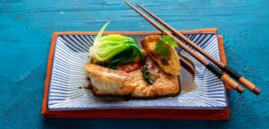 Baked Salmon With Ginger