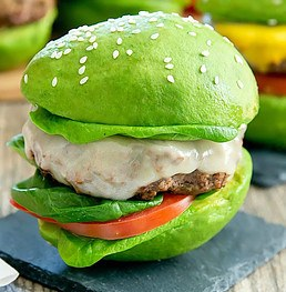 Burger with no bun and avocados Free Keto Diet Plan