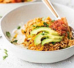 Chicken enchilada bowl Free Keto Diet Plan