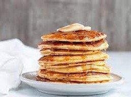 Cream-cheese pancakes